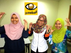 Innoball Training, Malaysia, 3 girls, funny ad, Innompic Training, Vadim Kotelnikov