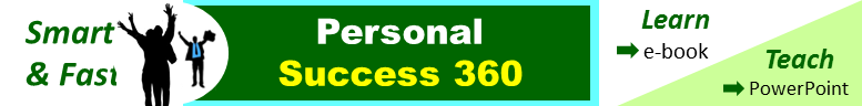 Personal Success 360, happiness, achievements, love