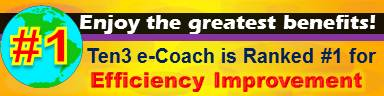#1 Efficiency Improvement Site - Ten3 Business e-Coach by Vadim Kotelnikov