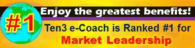#1 Market Leadership Site - Ten3 Business e-Coach by Vadim Kotelnikov