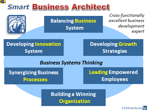 BUSINESS ARCHITECT Venture Architect CEO Business