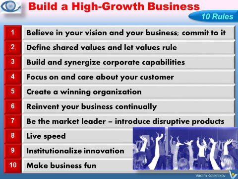 10 Rules for Building a Great Business