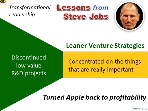 steve jobs transformational leadership There have been many great books, articles, and blogs praising the leadership of steve jobs and the results are hard to argue with steve was one of the most.