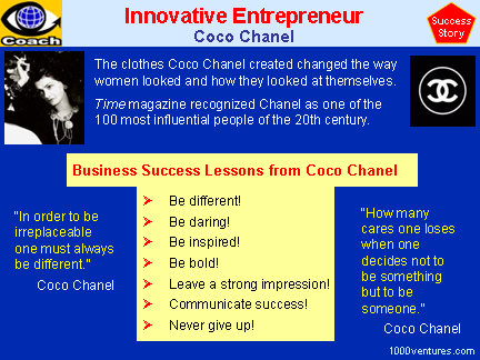 Coco Chanel (case study and lessons)