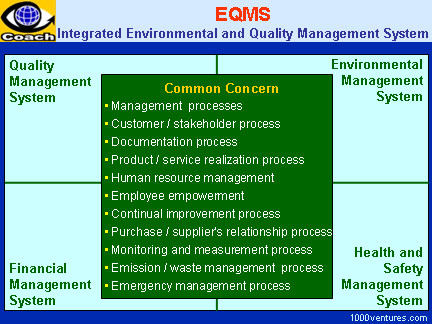 Integrated Environmental Management and Quality Management System