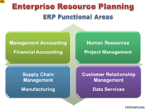ERP - Enterprise Resource Planning: Functional Areas
