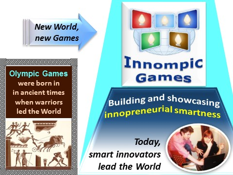 Creating big change example: Innompic Games