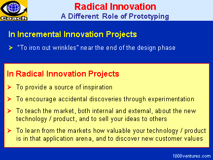 Radical Innovation: Prototyping