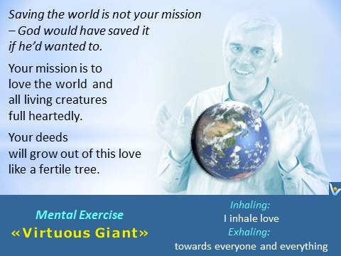 Virtuous Giant: Love the World, Love all people - Vadim Kotelnikov