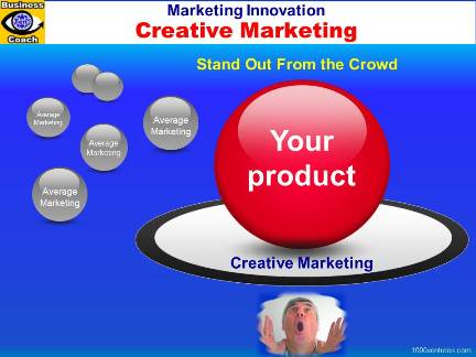 Creative Marketing: Stand Out From the Crowd of Competitors