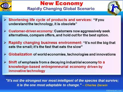 NEW ECONOMY: Key Features