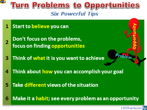 Turning Problems into Opportunities: 6 Tips