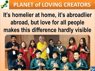 Love All People quotes Vadim Kotelnikov Planet of Loving Creators Innompic Games 2018 Vietnam team
