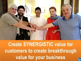 Synergistic Customer Value quote Vadim Kotelnikov