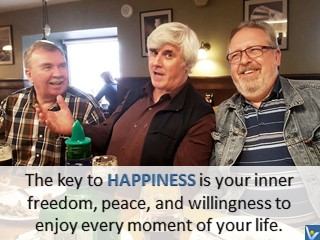 The Key to Happiness is inner freedom Vadim Kotelnikov happy life quotes