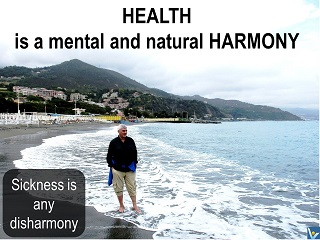Best Health quotes Health is a mental and natural harmony. Sickness is any disharmony. Vadim Kotelnikov