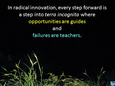 Innovation Failures are Teachers Opportunities are Guides