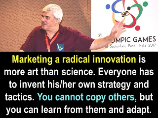 Radical innovation quotes marketing art Vadim Kotelnikov
