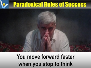 Vadim Kotelnikov best thinking quotes You move foreward much faster when you stop to think